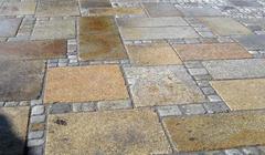 Alte Granit Platten